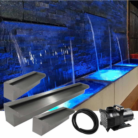 Luponds Multi Units Projection Effect - 300mm/900mm/300mm Spillway Kit