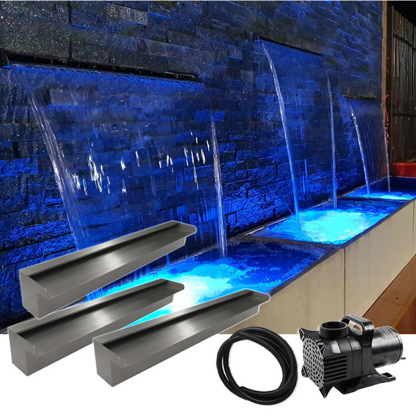 Luponds Multi Units Projection Effect - 600mm/600mm/600mm Spillway Kit