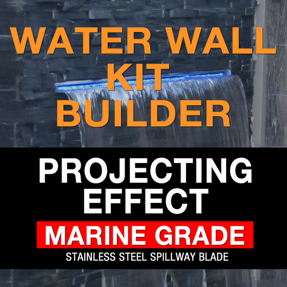 luponds projecting effect water wall kit