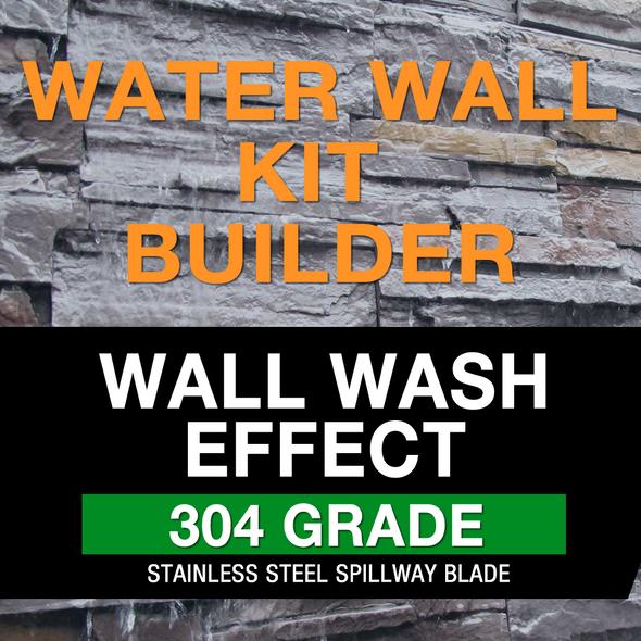 wall wash water wall kit