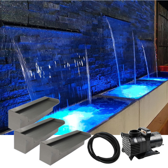 Luponds Multi Units Projection Effect - 300mm/300mm/300mm Spillway Kit