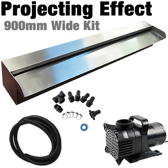 DIY Projecting Effect Water Wall Kit, 900mm Wide
