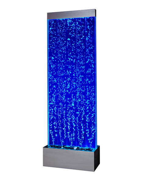 Bubble Panel Water Feature - Freestanding - Smart Phone control