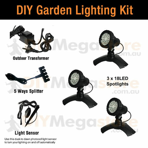 Aquapro 18 Multi LED Spotlights