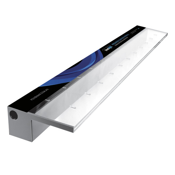 Pondmax  900mm Acrylic Water Blade - 125mm Lip BACK INLET
