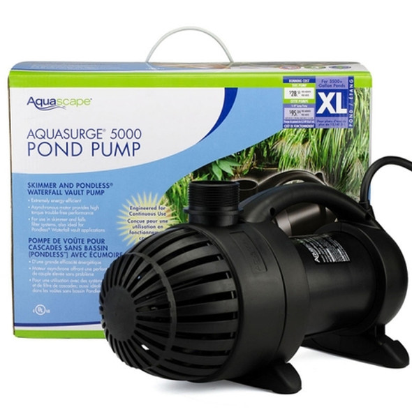 Aquasurge5000 pump