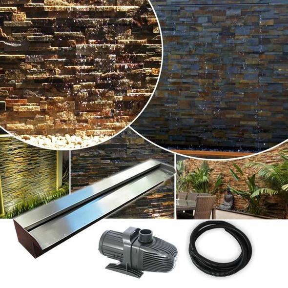 STARTER900 DIY Water Wall | Wall Wash Effect - 304G Kit