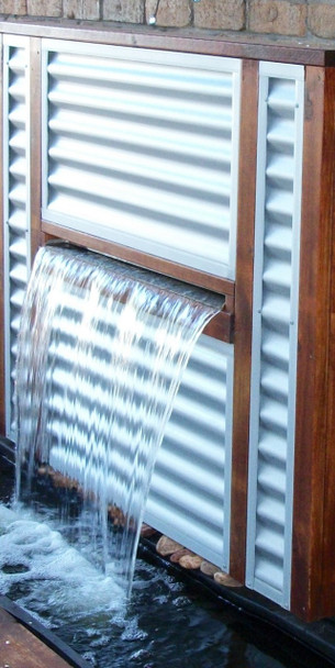 SAVER 1200P - Water Wall Kit Projecting Sheer Descent Curtain Effect