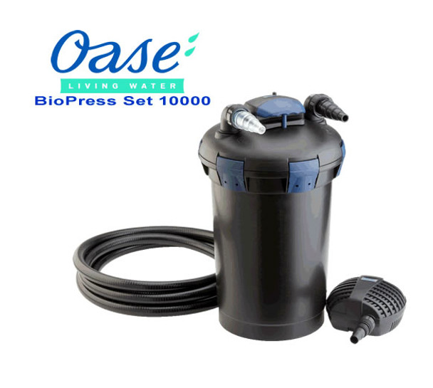 Oase Biopress Set 10000 - Filter and Pump Set