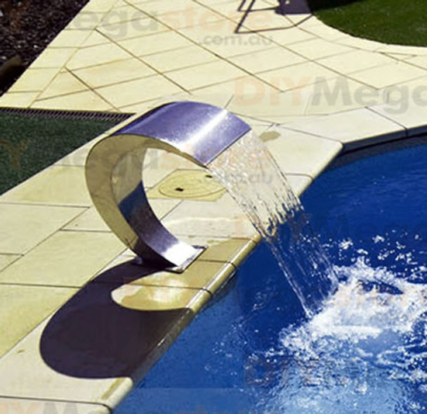 Swimming Pool waterfall feature Pacific300