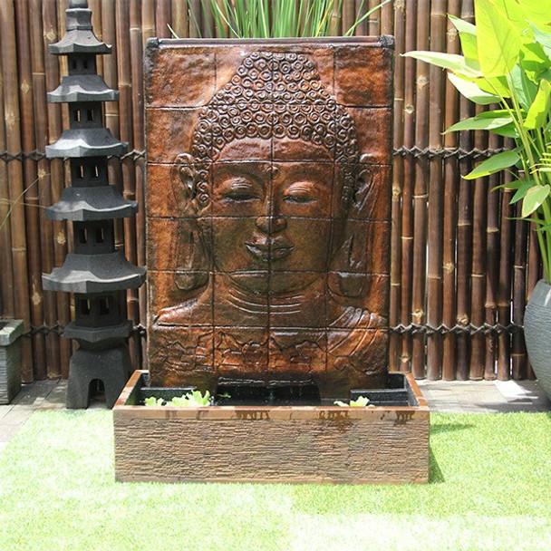 Buddha Face Panel Fountain