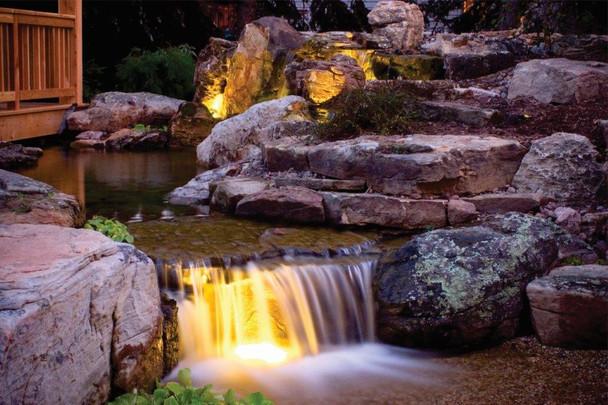 LED 3W WARM WHITE Pond Light - NO Transformer