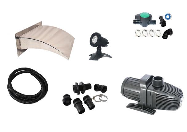 Euro300STARTER Kit - 316G + LED Light + Wall Kit- FREE SHIPPING