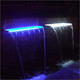 1200mm Acrylic Water Blade 125mm Lip BOTTOM INLETS