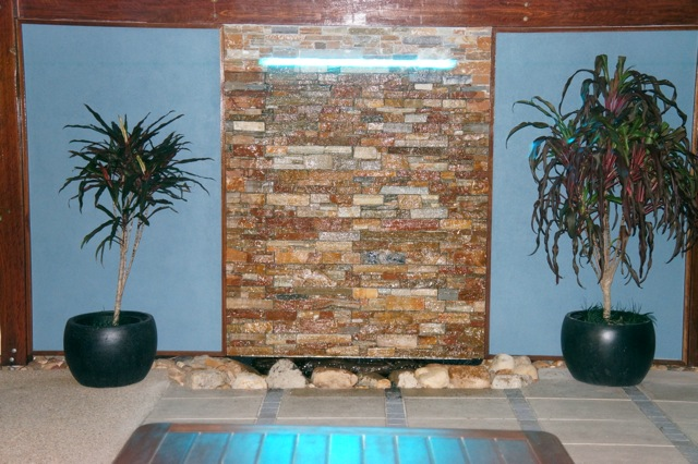 Diy Wall Cascading Water Features With Stone Cladding