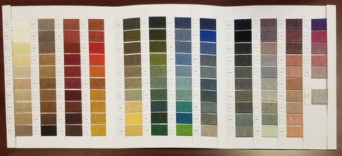 1071 Serging Tape Color Chart