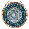 Stained Glass Window Celtic Knot