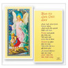 Bless This Child/Guardian Angel Holy Card