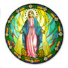 Our Lady of Grace Sticker Suncatcher for Glass
