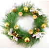 Evergreen Advent Wreath - Candles sold separately