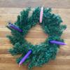 Evergreen Advent Wreath 18IN