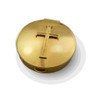 Latin Cross Brass Pyx 20-25 Hosts