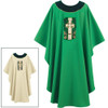 Green Chasuble with Gallagher Cross