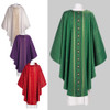 700241 Green Chasuble with Traditional Design
