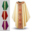 2750 Beige Chasuble in Dupion