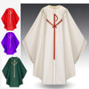 5090 White Chasuble in Dupion