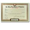 Pad of 50 Catholic Baptism Certificates