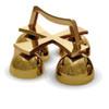 25BL14 Satin Bronze Altar Bells from Empire Bronze