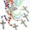 Glass Birthstone Rosaries 6mm