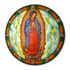 Our Lady Guadalupe Sticker Suncatcher for Glass