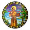 Saint Francis Window Sticker Suncatcher for Glass