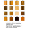 2455 Wood Stain Options