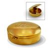CS Large Gold Pyx w/IHS Design