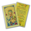 Holy Card Mother of Perpetual Help