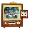 Retro Action Musical TV with Train