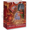 Holy Family Christmas Gift Bag Red
