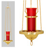 K153BZ Hanging Sanctuary Lamp
