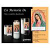 En Memoria De/ In Loving Memory 6Day Gleam Spanish