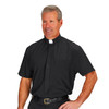 J0124 Pure-Fit SS Clergy Shirt