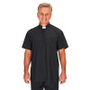 J0125 Pure-Fit Polo Clergy Shirt B