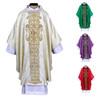 Avignon-Jacquard Gothic Chasuble in Ivory
