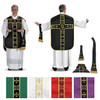 5PC Roman Chasuble Set from R.J. Toomey