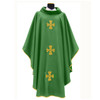 318 Chasuble in Monastico Fabric Green