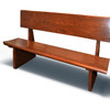 Wooden Pew Bench Used
