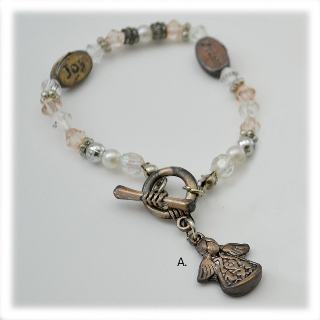 Angel Blessings Bracelets 2 Asst - Sold Separately