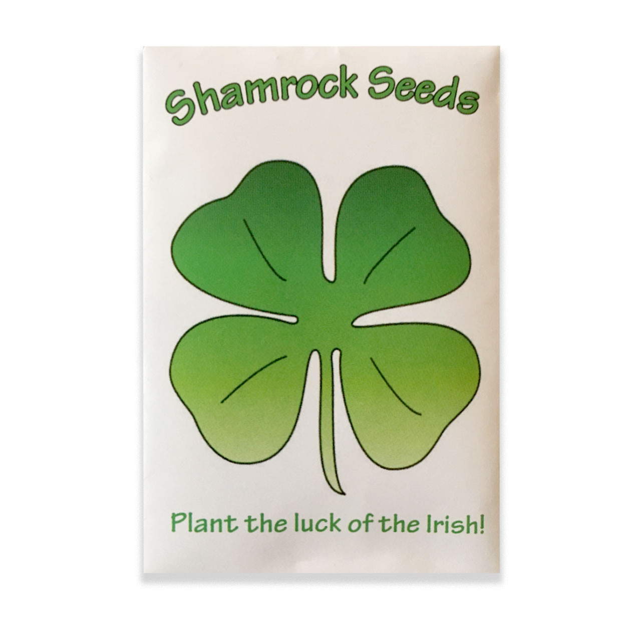 Mini Packet of Shamrock Seeds